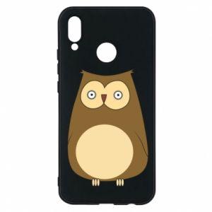 Etui na Huawei P20 Lite Owl with big eyes