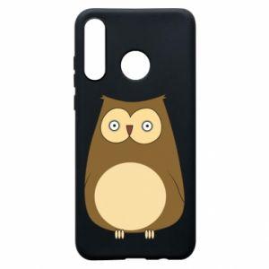 Etui na Huawei P30 Lite Owl with big eyes