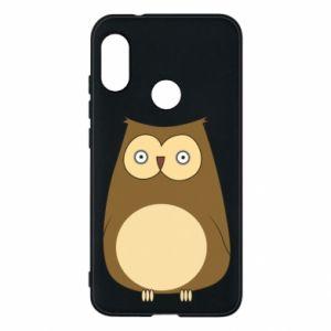 Etui na Mi A2 Lite Owl with big eyes