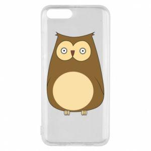 Etui na Xiaomi Mi6 Owl with big eyes