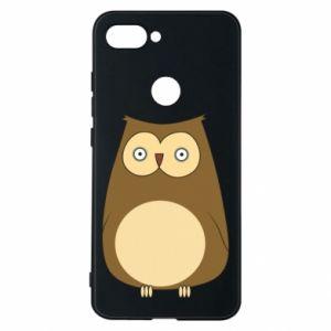 Etui na Xiaomi Mi8 Lite Owl with big eyes