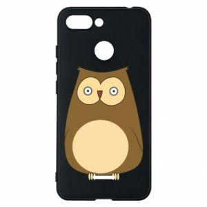 Etui na Xiaomi Redmi 6 Owl with big eyes