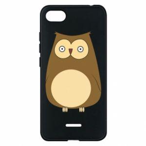 Etui na Xiaomi Redmi 6A Owl with big eyes