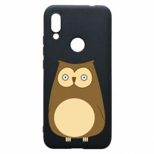 Etui na Xiaomi Redmi 7 Owl with big eyes