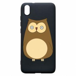 Etui na Xiaomi Redmi 7A Owl with big eyes