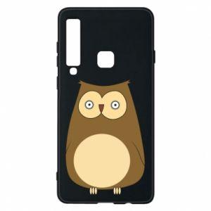 Etui na Samsung A9 2018 Owl with big eyes