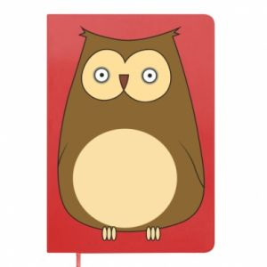 Notes Owl with big eyes