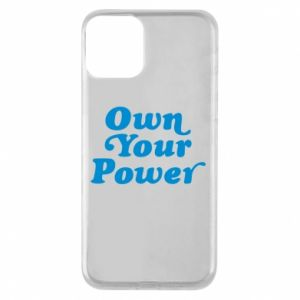 Etui na iPhone 11 Own your power