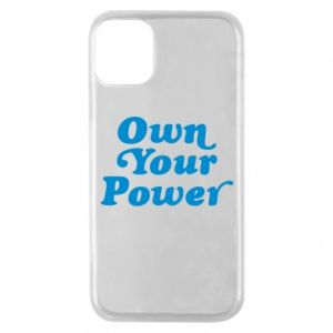 Etui na iPhone 11 Pro Own your power
