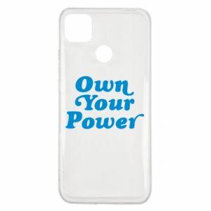Etui na Xiaomi Redmi 9c Own your power