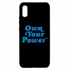 Etui na Xiaomi Redmi 9a Own your power