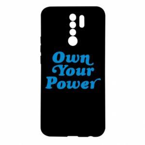 Etui na Xiaomi Redmi 9 Own your power