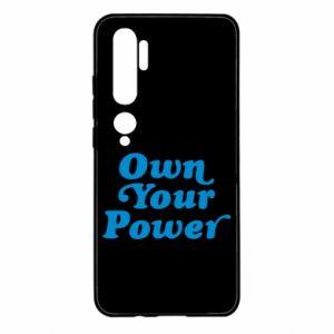 Etui na Xiaomi Mi Note 10 Own your power