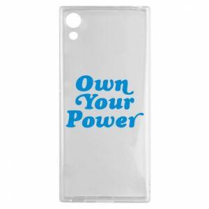 Etui na Sony Xperia XA1 Own your power