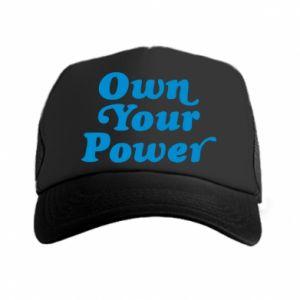 Czapka trucker Own your power