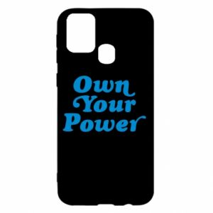 Etui na Samsung M31 Own your power