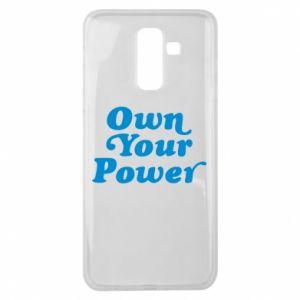 Etui na Samsung J8 2018 Own your power