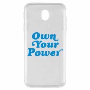 Etui na Samsung J7 2017 Own your power