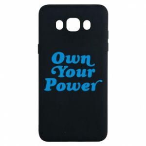 Etui na Samsung J7 2016 Own your power
