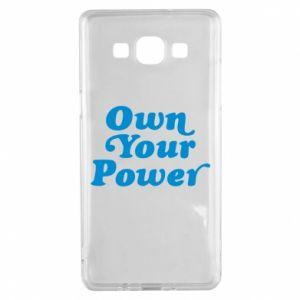 Etui na Samsung A5 2015 Own your power