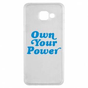 Etui na Samsung A3 2016 Own your power
