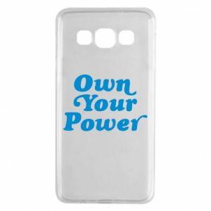 Etui na Samsung A3 2015 Own your power