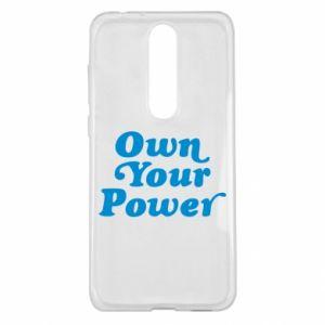 Etui na Nokia 5.1 Plus Own your power