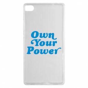 Etui na Huawei P8 Own your power