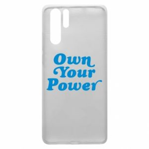 Etui na Huawei P30 Pro Own your power