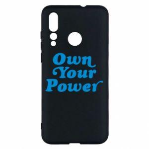 Etui na Huawei Nova 4 Own your power