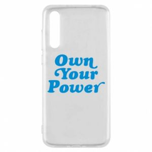 Etui na Huawei P20 Pro Own your power