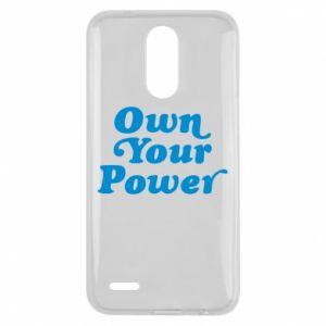 Etui na Lg K10 2017 Own your power
