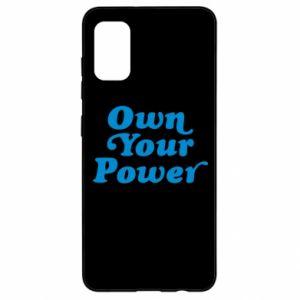 Etui na Samsung A41 Own your power