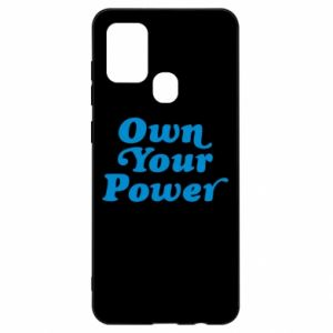 Etui na Samsung A21s Own your power