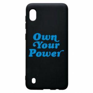 Etui na Samsung A10 Own your power