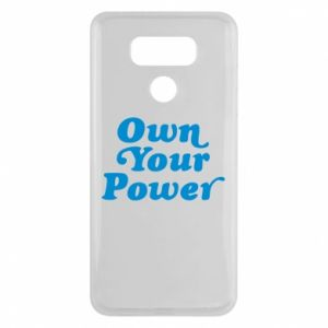 Etui na LG G6 Own your power