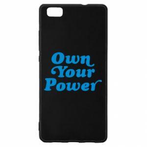 Etui na Huawei P 8 Lite Own your power