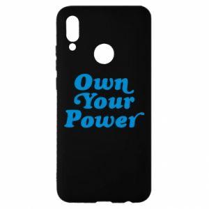 Etui na Huawei P Smart 2019 Own your power