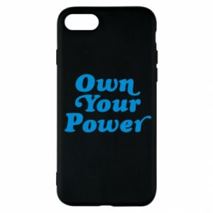 Etui na iPhone SE 2020 Own your power