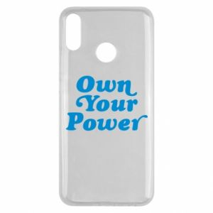 Etui na Huawei Y9 2019 Own your power