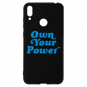 Etui na Huawei Y7 2019 Own your power