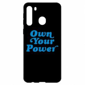 Etui na Samsung A21 Own your power