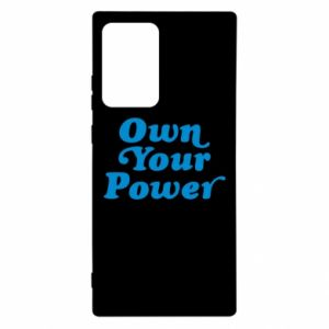 Etui na Samsung Note 20 Ultra Own your power