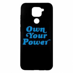 Etui na Xiaomi Redmi Note 9/Redmi 10X Own your power