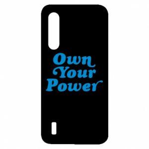 Etui na Xiaomi Mi9 Lite Own your power