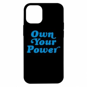 Etui na iPhone 12 Mini Own your power