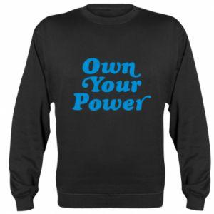 Bluza (raglan) Own your power