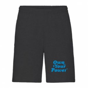 Men's shorts Own your power