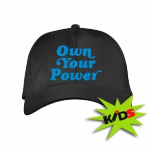 Kids' cap Own your power