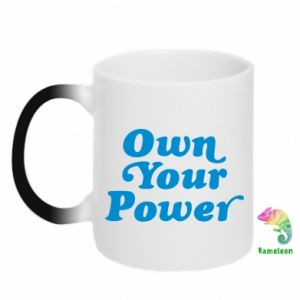 Kubek-magiczny Own your power